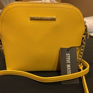 Steve Madden Women's Crossbody Bag Mustard